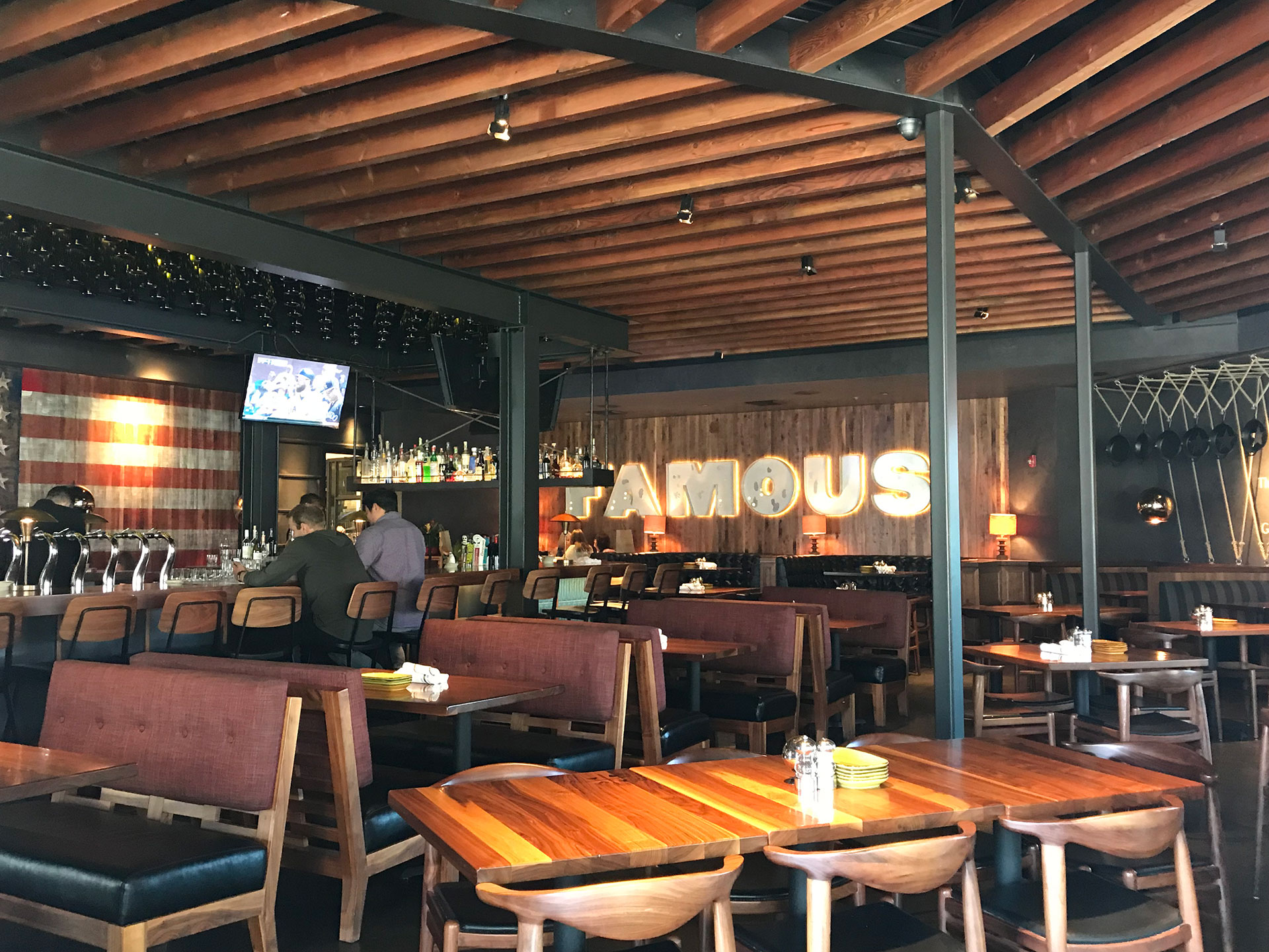 Jimmy's Brea offers a modern bar and dining experience
