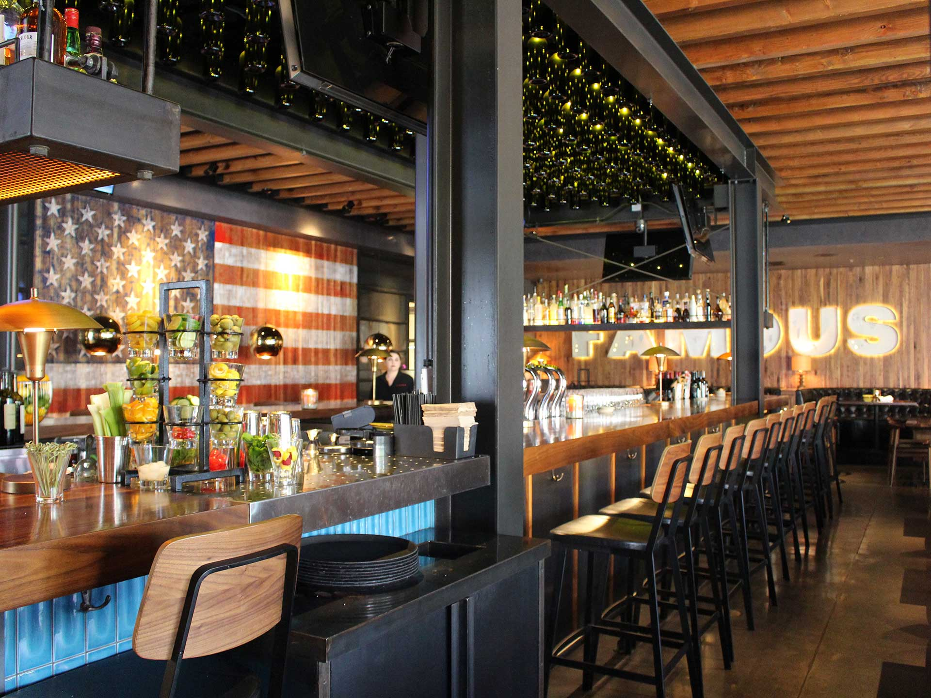 Jimmy's Brea bar offers a variety of craft cocktails and local taps