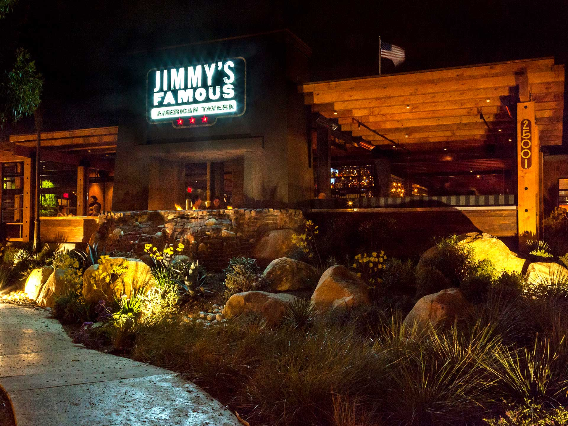 Jimmy's Dana Point offers an outdoor patio