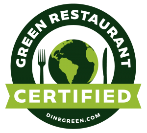 Jimmy's Famous American Tavern is a Certified Green Restaurant by dinegreen.com.