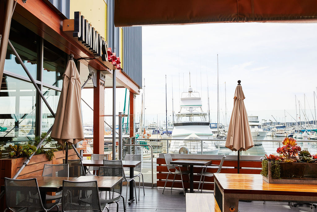 Jimmy's San Diego is located at The Promenade Waterfront in Point Loma